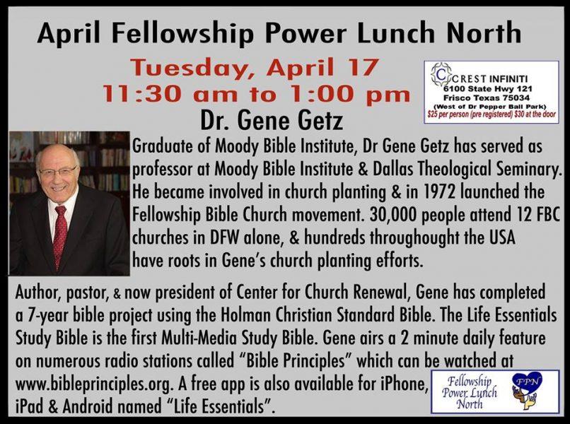 fellowship-power-lunch-dr-gene-getz